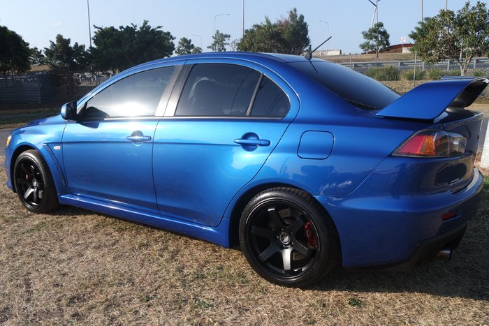 2008 Mitsubishi Lancer Evolution CJ MY09 Four Wheel Drive BLUE