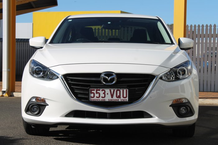 2015 Mazda 3 SP25 BM Series WHITE
