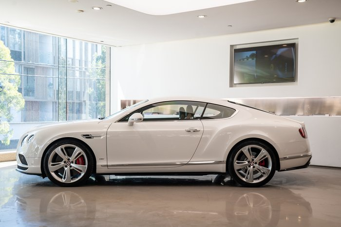 2016 Bentley Continental GT V8 S 3W MY17 4X4 Constant WHITE