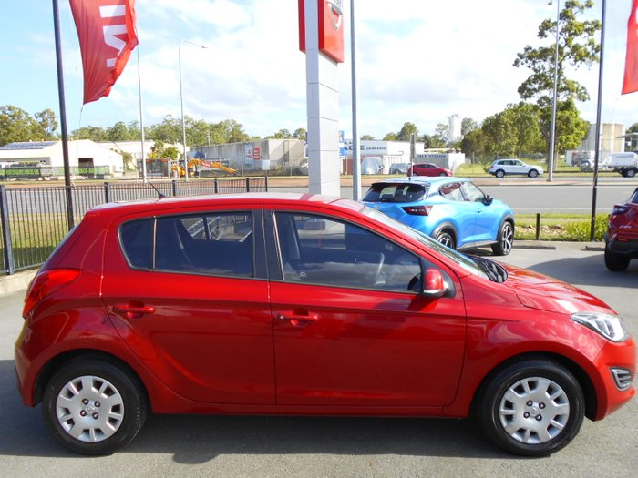 2015 Hyundai i20 Active PB MY16 RED