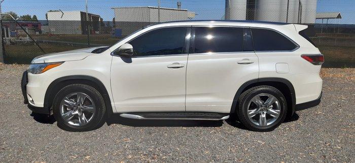 2016 Toyota Kluger Grande GSU55R Four Wheel Drive WHITE