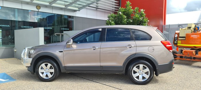 2014 Holden Captiva 7 LS CG MY14 BROWN