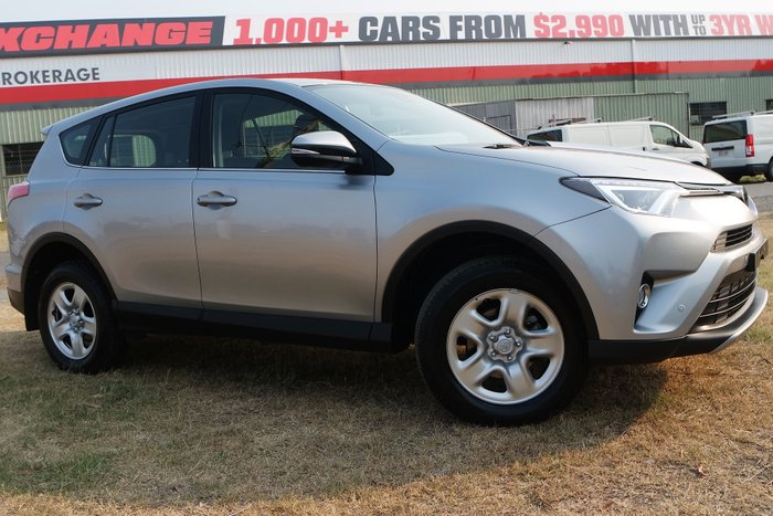 2018 Toyota RAV4 GX ASA44R 4X4 On Demand SILVER
