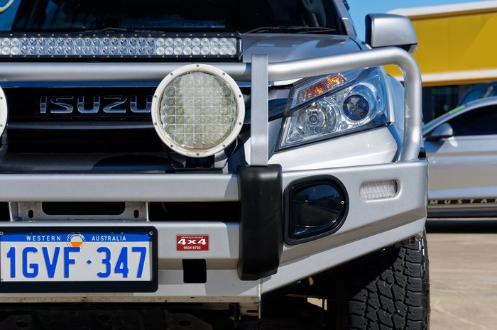 2015 Isuzu MU-X LS-M MY15 SILVER OR CHROME