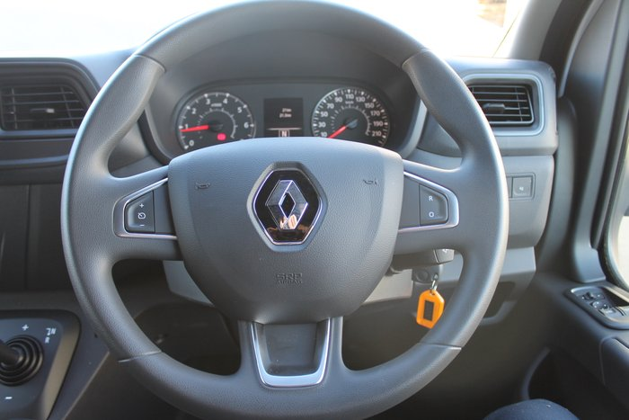 2019 Renault Master X62 Mineral White - Solid