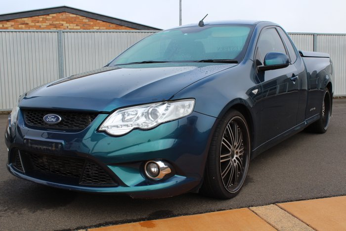 2010 Ford Falcon Ute XR6 Turbo FG GREEN