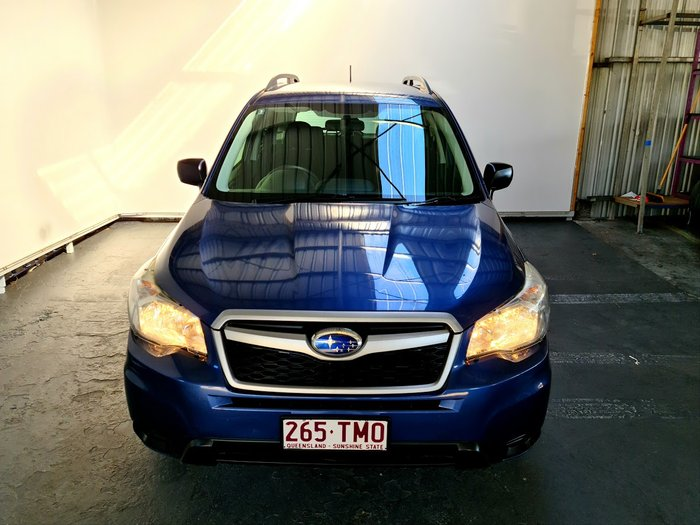 2012 Subaru Forester S4 MY13 BLUE