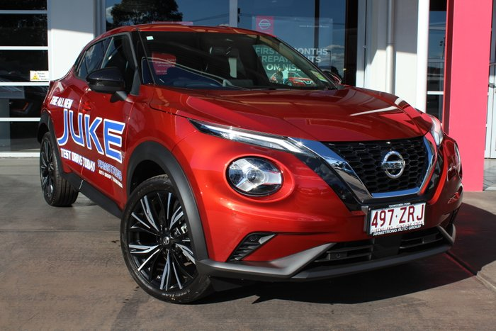 2020 Nissan JUKE Ti F16 FUJI SUNSET RED