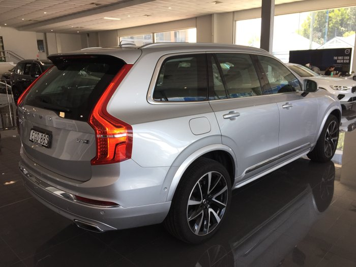 2019 Volvo Xc90 D5 Inscription D5 Inscription 2.0L TT/D 173kW 8AT Wagon MY20 4WD Bright Silver