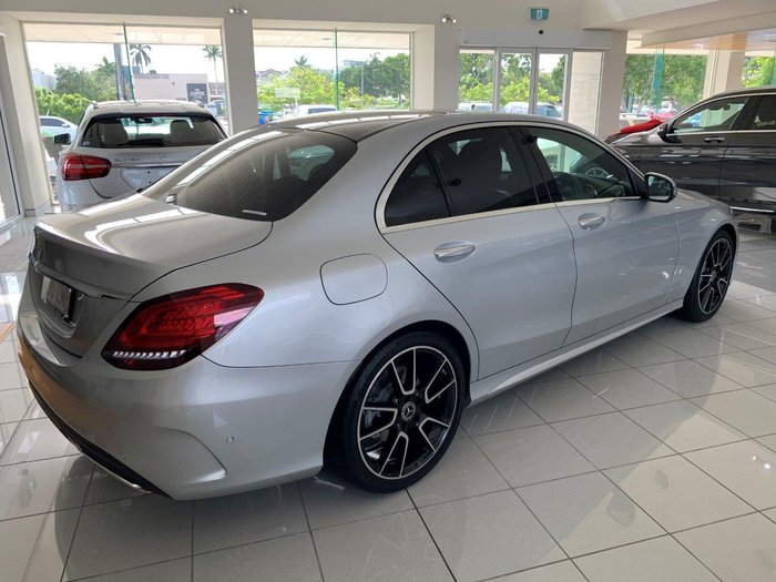 2019 Mercedes-Benz C-Class C300 W205 775-Iridium Silver Metallic