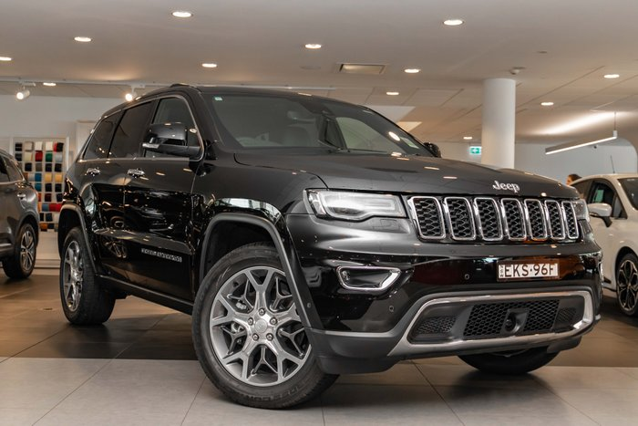 2020 Jeep Grand Cherokee Limited WK MY20 4X4 Dual Range Diamond Black Crystal