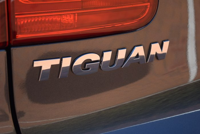 2015 Volkswagen Tiguan 132TSI 5N MY15 Four Wheel Drive GREY