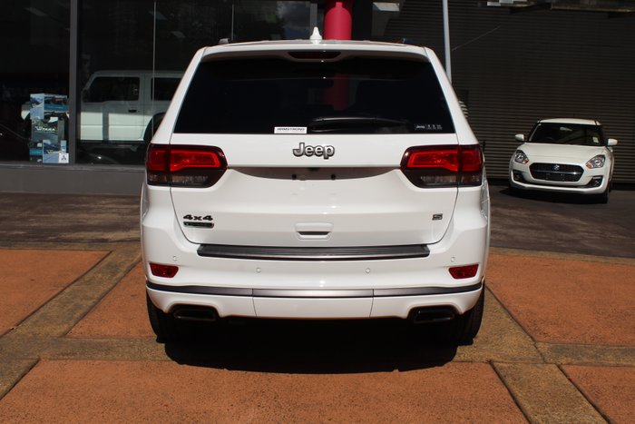 2020 Jeep Grand Cherokee S-Limited WK MY20 4X4 Dual Range Bright White