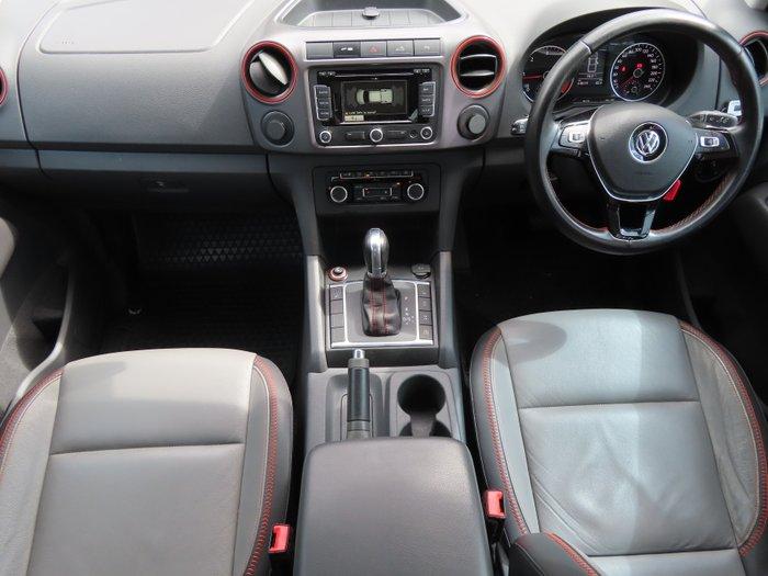 2015 Volkswagen Amarok TDI420 Canyon 2H MY15 4X4 Constant ORANGE