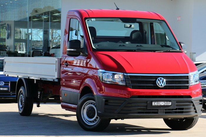 2018 Volkswagen Crafter 35 TDI410 SY1 MY19 RED