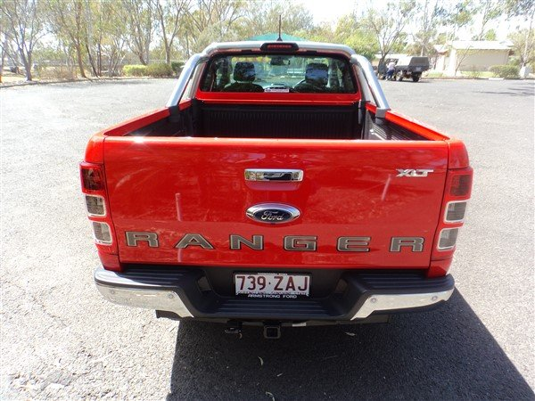 2018 Ford Ranger XLT PX MkIII MY19 4X4 Dual Range TRUE RED
