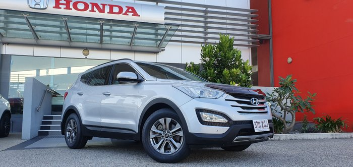 2014 Hyundai Santa Fe Active DM2 MY15 4X4 On Demand SILVER