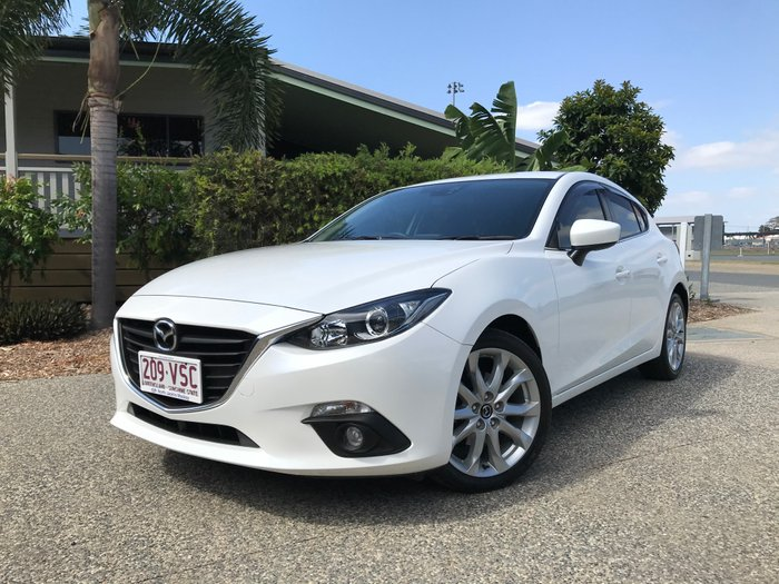 2014 Mazda 3 SP25 BM Series WHITE