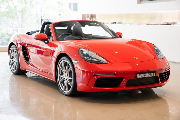 2019 Porsche 718 Boxster 982 MY19 RED