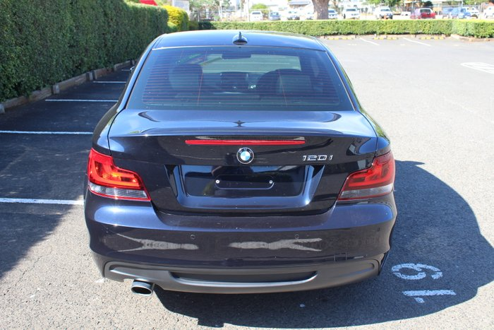 2013 BMW 1 Series 120i E82 LCI MY13 BLACK