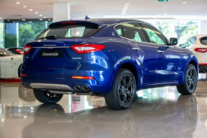 2019 Maserati Levante GranLusso M161 MY19 4X4 On Demand Blu Emozione (Mica)
