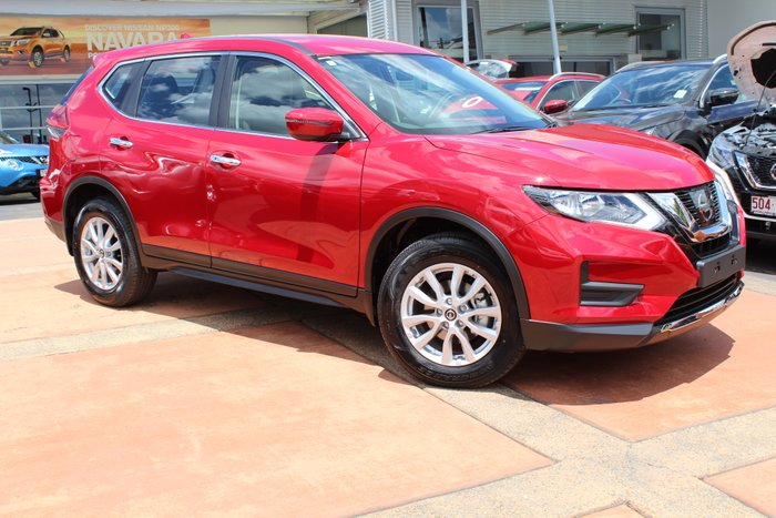 2019 NISSAN X-TRAIL 4WD AUTO ST SERIES 2 RUBY RED