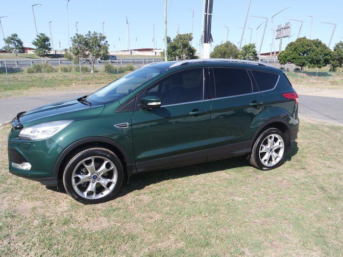 2015 Ford Kuga Titanium TF MkII MY15 4X4 On Demand GREEN