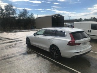 2020 Volvo V60 T5 Momentum MY20 4X4 On Demand Ice White Solid