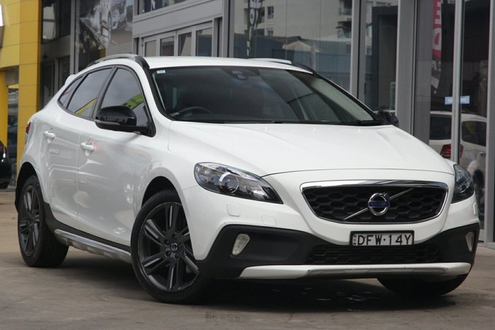 2016 Volvo V40 Cross Country D4 Luxury MY16 Ice White Solid