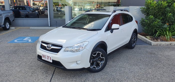 2014 SUBARU XV G4X MY14 2.0i-L Wagon 5dr Man 6sp AWD WHITE