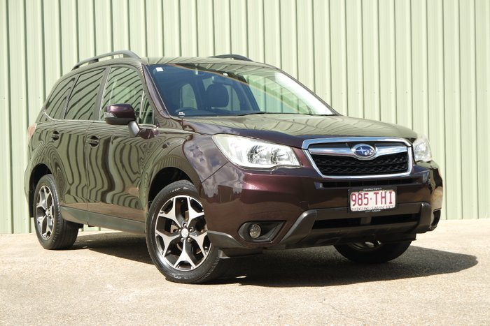 2012 Subaru Forester 2.0D-S S4 MY13 AWD MAROON