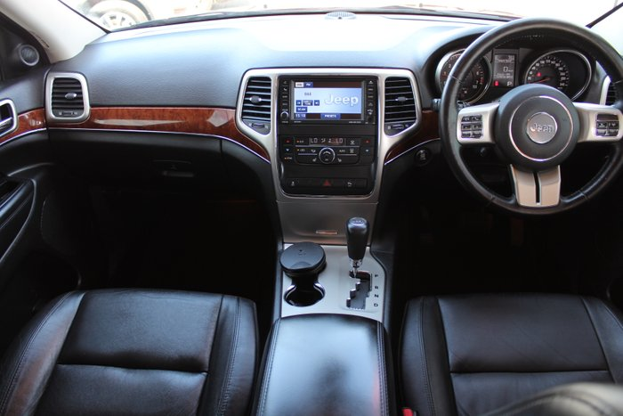 2012 Jeep Grand Cherokee Limited WK MY12 4X4 Constant RED