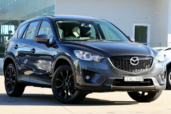 2014 Mazda Cx-5 Grand Touring KE1031 MY14 Grey