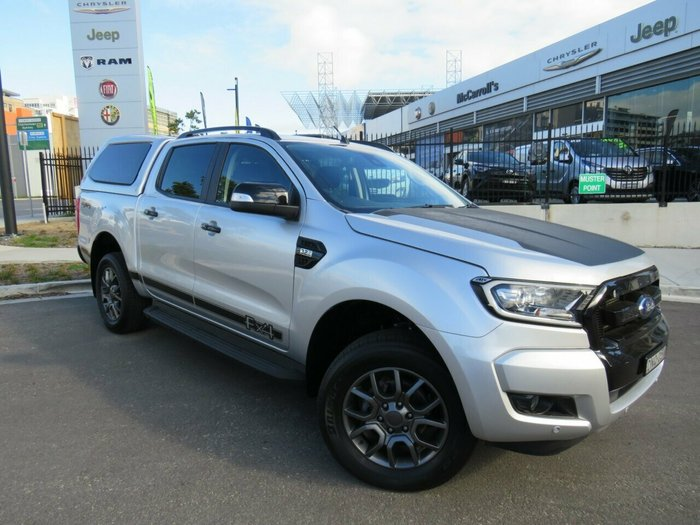 2017 Ford Ranger FX4 PX MkII Silver