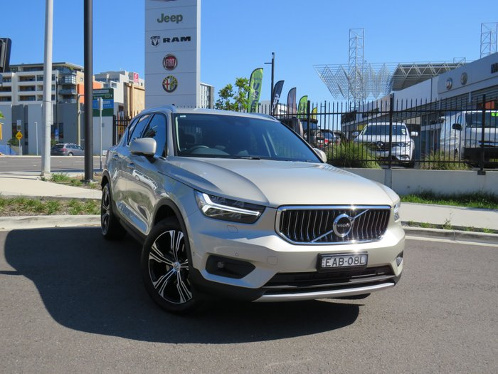 2018 Volvo XC40 T4 Inscription MY19 Four Wheel Drive Luminous Sand