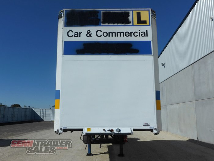 1993 Krueger 8 Pallet Curtainsider A Trailer- Road Train Rated