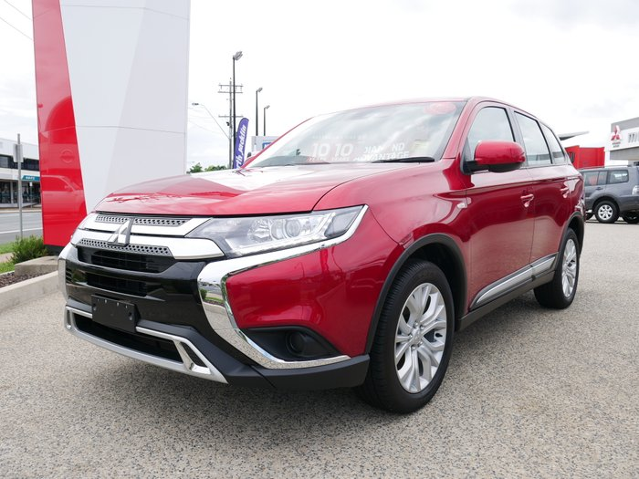 2021 Mitsubishi OUTLANDER ZL ES 2WD 2.4L Pet CVT 7S RED DIAMOND
