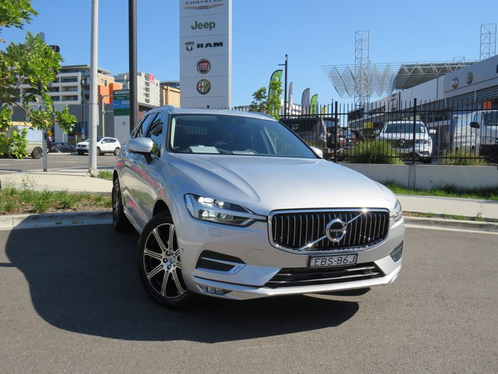 2018 Volvo XC60 T5 Inscription MY18 Four Wheel Drive Bright Silver