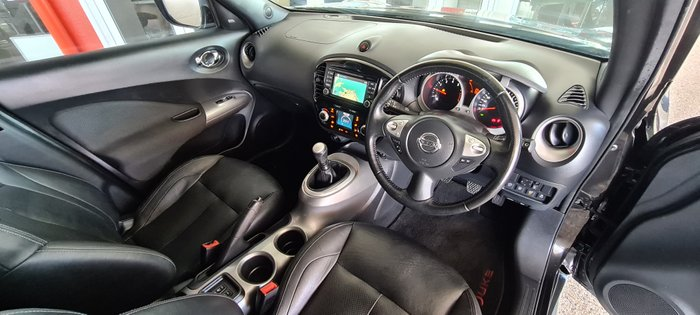 2016 NISSAN JUKE Ti-S F15 Series 2 Ti-S Hatch 5dr Man 6sp 2WD 1.6T BLACK