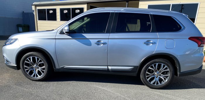 2015 Mitsubishi Outlander Exceed ZK MY16 4X4 On Demand SILVER