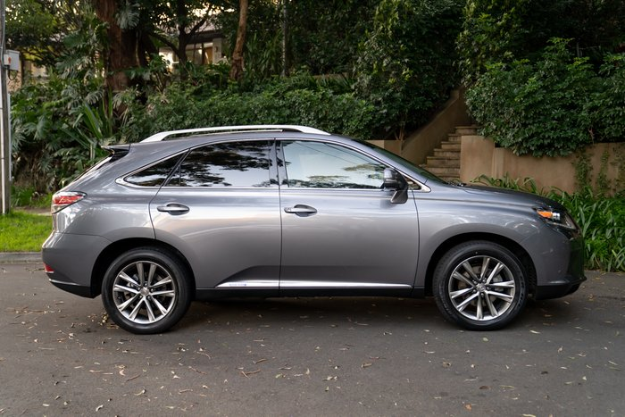 2013 Lexus RX RX450h Sports Luxury GYL15R 4X4 On Demand MERCURY GREY