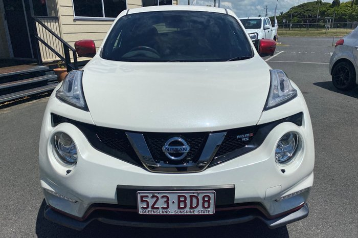 2018 Nissan JUKE NISMO RS F15 MY18 AWD WHITE