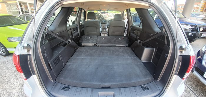 2012 Ford Territory TX SZ SILVER