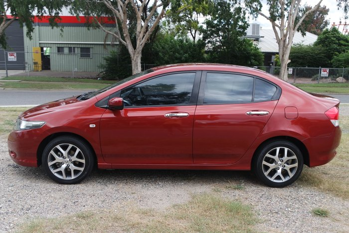 2009 Honda City VTi-L GM MY09 RED