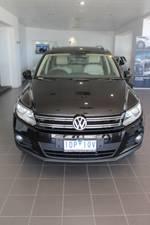 2012 Volkswagen Tiguan 155TSI 5N MY12.5 Four Wheel Drive Black