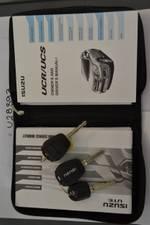 2017 Isuzu MU-X LS-U MY16.5 4X4 Dual Range Silver