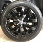 2019 Volkswagen Amarok TDI580 Highline Black 2H MY19 4X4 Constant Silver