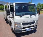 2015 Fuso Canter 515 Wide DUAL CAB WHITE