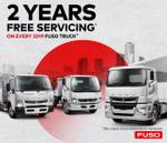 2019 FUSO CANTER 515 CREWCAB +2 YEARS FREE SERVICING 2019 TRUCKS* null null null
