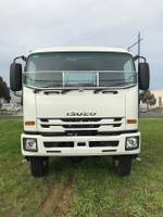 2018 Isuzu FTS 139-260 CAB CHASSIS null null WHITE